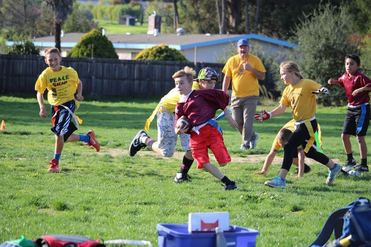 flag football picture